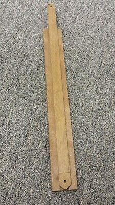 16 inch mohagany drawer slide wood lot of 6 new free shipping