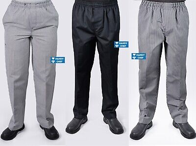 Chef Pants 2 Value Pack - Most Durable Chef Pants - Black Pants, heck Chef Pants