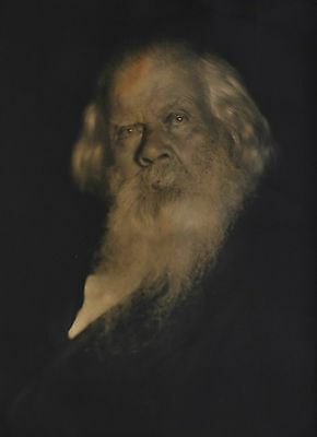 SIR HENRY PARKES 'Father of Federation' c1892 SIGNED portrait by FALK STUDIOS