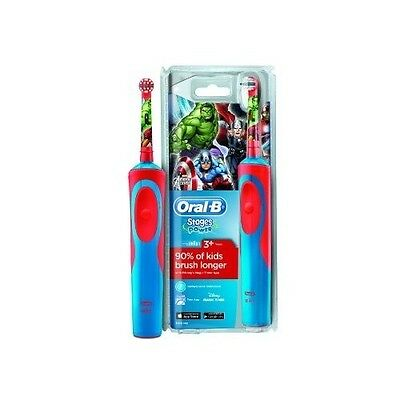 Kids Electric Toothbrush Soft Rechargeable Oral Clean Dental Care Disney Oral B