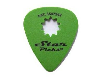 STAR PICKS LOT DE 3 Médiators Pat.5587542 Taille 0.88 mm