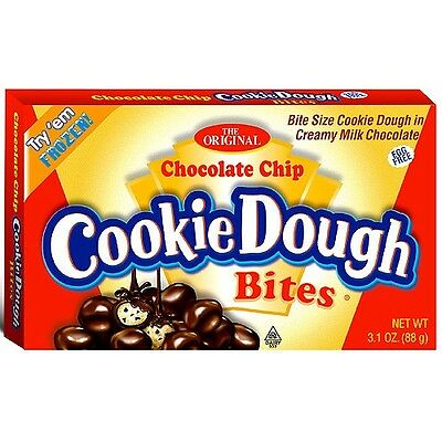Chocolate Chip Cookie Dough Bites (88g) from American Goodies Free UK Delivery
