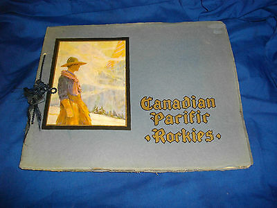 through the canadian pacific rockies book 1900 -1920 's? nice shape montreal