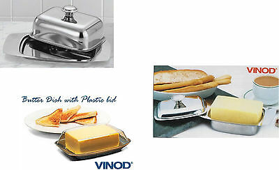 Stainless Steel Butter Dish Dishes Retro with Lid - 3 Options - Unbeatable Price
