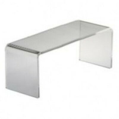 Clear Acylic Cube Counter Top Riser Jewelry Makeup Display Stand 6x6 Lot of 3