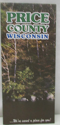 Vintage Price County Wisconsin Map Phillips 6th Edition 2000