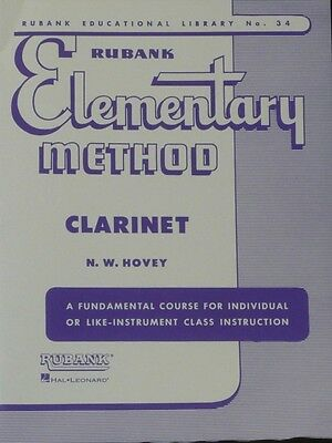 Rubank Elementary Method - Clarinet (Rubank Educational Library)