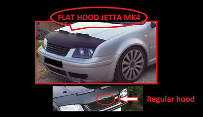 VW VOLKSWAGEN JETTA Mk4 BORA BADGELESS HOOD COVER 1999–2005 * BEST PRICE*