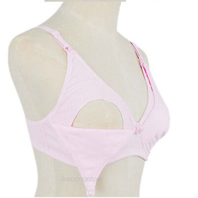 Maternity Breast Feeding Underwear Nursing Cotton Bra for Pregnant Women Mother