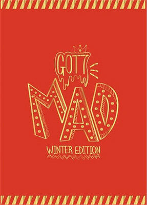 GOT7 autographed 2015 album Mad If you do Repackage Winter edition Happy version
