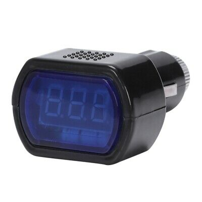New LCD Cigarette Lighter Voltage Digital Panel Meter Volt Voltmeter Monitor LW