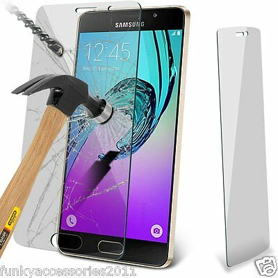 Genuine Premium Tempered Glass LCD Screen Protector for Samsung Galaxy A3 2016