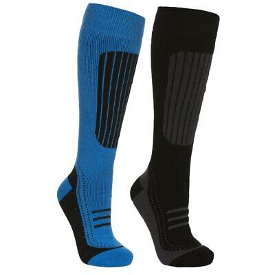 Trespass Langdon Ski Socks 2 Pair Pack
