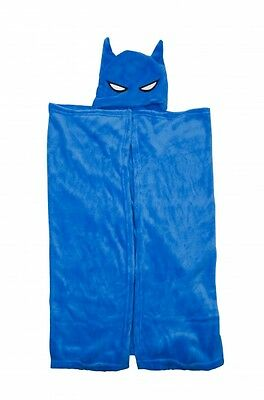 Superhero Batman Hero 'Cape' One Size Soft Warm Cuddle Robe