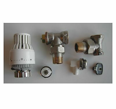 """COMAP S631680 - Kit robinet thermostatique equerre 1/2"""" 15x21 *NEUF*"""
