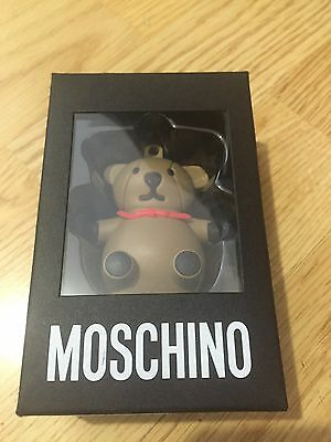 Moschino X Jeremy Scott Usb Brown Bear Necklace Usb 4Gb, Limited Edtion & Avail