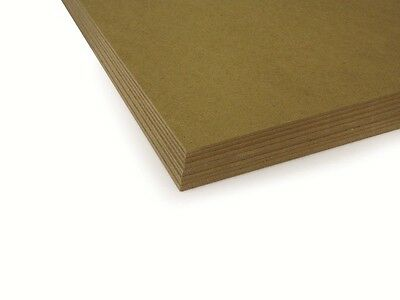 """MDF 2.8mm Backing Board Panel / Drawing, Painting Surface - 9 x 7 """" (Pack of 10)"""