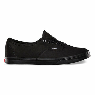 NEW WOMEN VANS AUTHENTIC LO PRO BLACK ORIGINAL VN-0GYQBKA Free Shipping