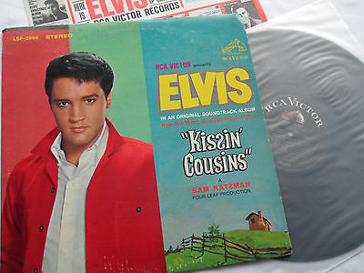ELVIS Original 1st Press Kissin Cousins << NO CAST COVER>> LSP-2894