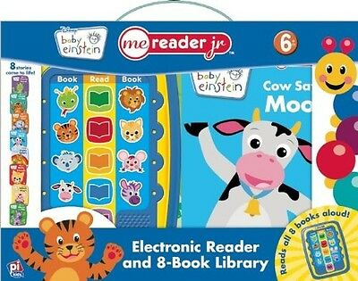 BABY EINSTEIN ELECTRONIC ME READER JR & 8 Book Library HOT PRICE!!