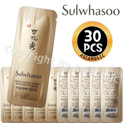 Sulwhasoo Concentrated Ginseng Renewing Essential Oil 1ml x 30pcs (30ml) Sample