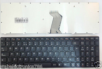 Lenovo G500 G505 G510 G710 Laptop Keyboard UK Layout Version 25210952 New