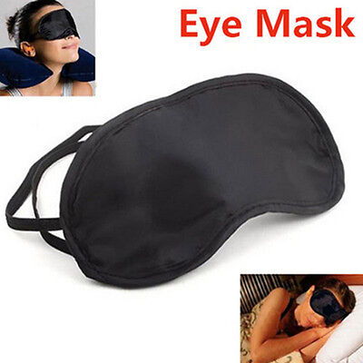 1PC Travel Sleep Rest Sleeping Aid Masks Eye Shade Cover Comfort Care Blindfolds