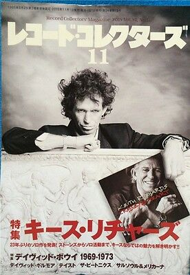 Record Collectors 11/2015 Japan Music Magazine Keith Richards