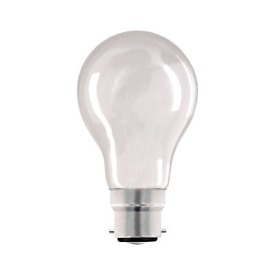 60W Gls Pearl Light Bulbs Bc B22 Bayonet Cap / Es E27 Screw Cap Branded