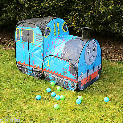 childrens pop up train playtent with funnel indoor outdoor great fun unisex