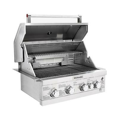 Kitchenaid Stainless Steel 8 Burner Grill 1 917 00