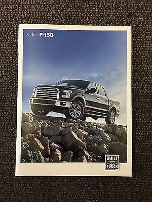 2016 Ford F150 60-page Original Sales Brochure