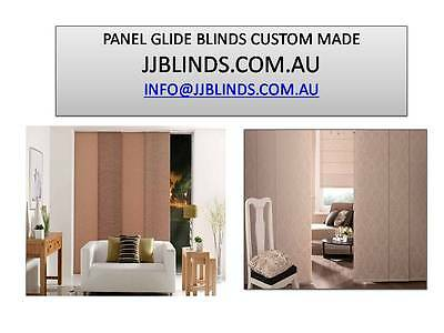 Custom made panel glide blinds fabric sample from $10