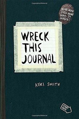 Wreck This Journal (Black) Expanded Edition New Paperback by Keri Smith