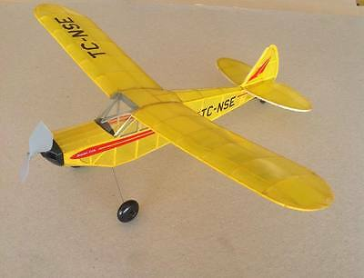 PIPER CUB rubber powered model airplane kit