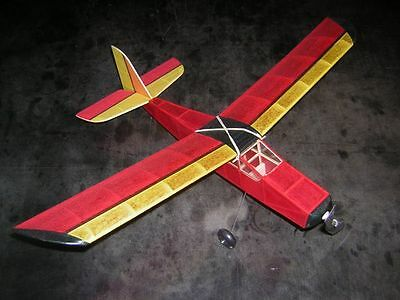 SARP  rubber powered model airplane kit