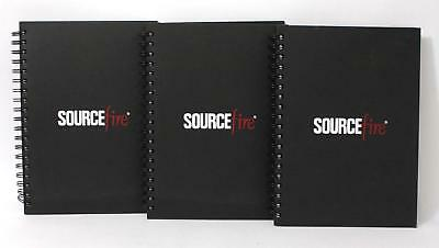 "Lot of 3 Sourcefire Ruled Notebooks (7 1/4"" x 10"")"