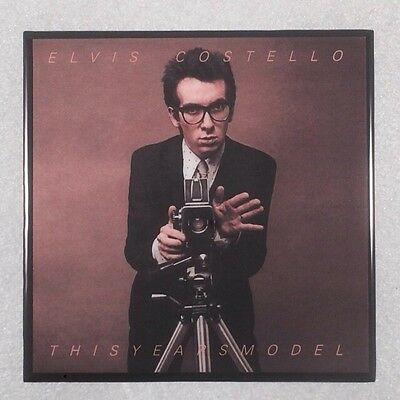 ELVIS COSTELLO This Years Model Record Cover Art Ceramic Tile Coaster