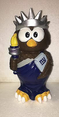 (1) New York Giants Thematic NFL Owl Garden Statue by Forever Collectibles b59aa0dcc