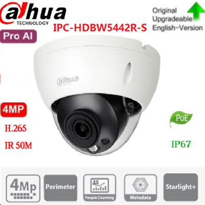 Hikvision Original English Version DS-2CD2142FWD-IS 4MP POE Onvif WDR IP Camera