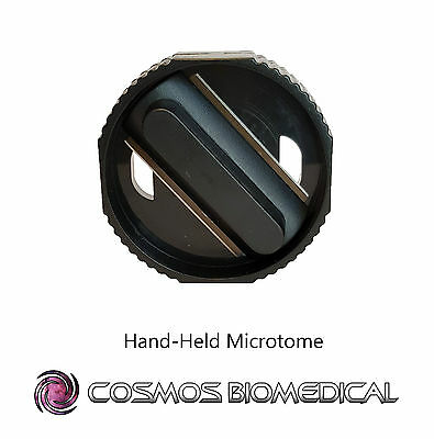 Microtome - Hand held microtome for microscopy.