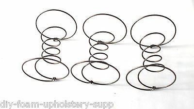 Double cone springs coil springs any size 9 10 12 gauge UPHOLSTERY SUPPLIES