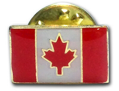 Canada Flag Lapel Pin - Bulk Lot of 100