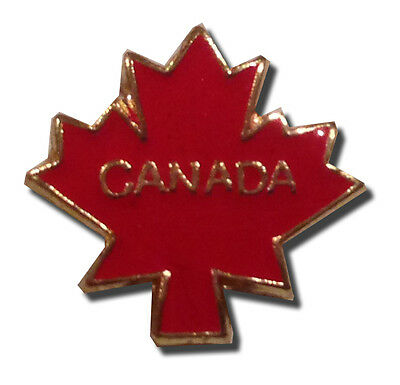 Canada Maple Leaf Lapel Pin - Brand New