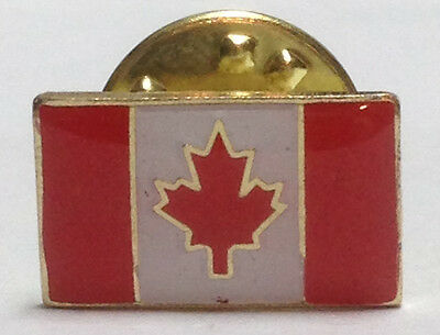 Canada Flag / Maple Leaf Lapel Pin - 2 Pack