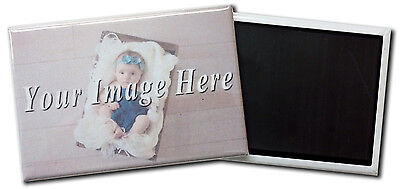 """Customized Fridge Magnet With Your Own Photo - 2X3"""""""