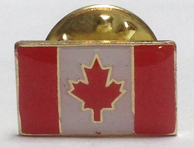 Canada Flag and Maple Leaf Lapel Pins - Bulk Lot of 100 (50 Flag, 50 Maple Leaf)