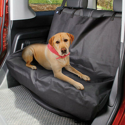 """Car Back Seat Plastic Protector Cover for Pets 52""""X50"""""""