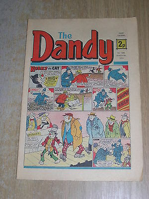 The Dandy No 1685 March 9th 1974
