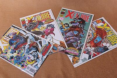 Marvel Comics X-Men X-Calibre #1-4 Complete Set 1995 Age of Apocalypse